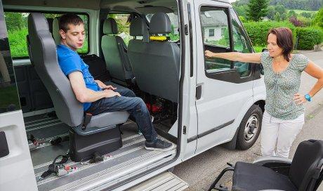 Accès facilité à la montée du véhicule